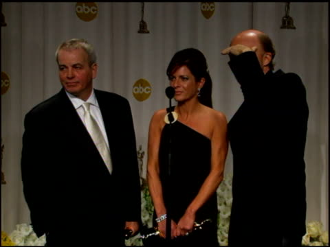 paul haggis on his first reaction to winning not expecting to win and crash breaking all the rules at the 2006 annual academy awards at the kodak... - paul haggis stock videos and b-roll footage