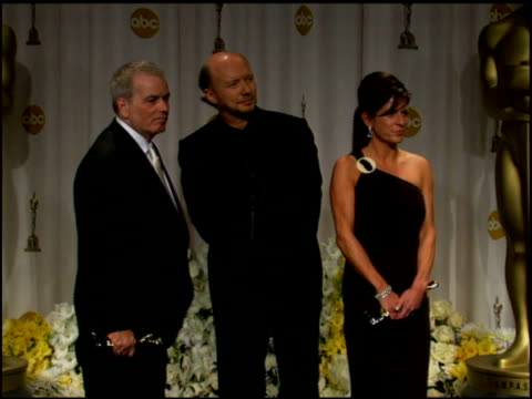 paul haggis on liking controversial films at the 2006 annual academy awards at the kodak theatre in hollywood, california on march 5, 2006. - academy awards stock videos & royalty-free footage