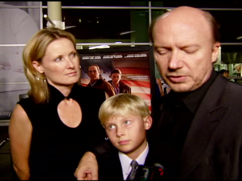 paul haggis on the message of the film choosing the cast the benefits of being writer and director and what he wants people to know about this movie... - paul haggis stock videos and b-roll footage