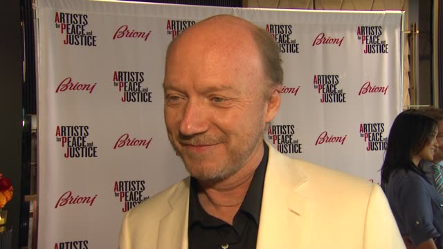 paul haggis on what brioni's support of artists of peace justice means to him what he appreciates about the brand what he thinks of the store and... - sense stock-videos und b-roll-filmmaterial