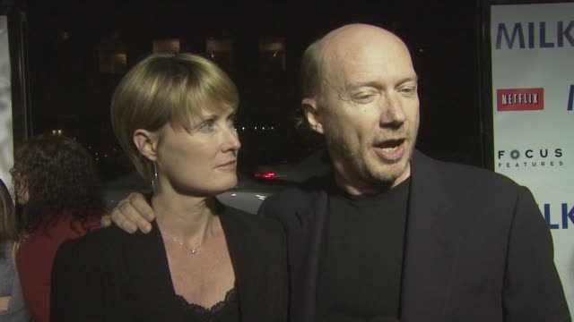 paul haggis on why he wanted to be a part of the evening what josh brolin sean penn bring to the big screen at the milk premiere at los angeles ca - paul haggis stock videos and b-roll footage