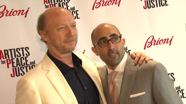 paul haggis todd barrato at brioni rodeo drive boutique opening on 5/10/12 in los angeles ca - paul haggis stock videos and b-roll footage