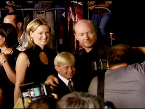 Paul Haggis wife Deborah and son James at the 'In the Valley of Elah' Premiere at Arclight Cinemas in Hollywood California on September 13 2007