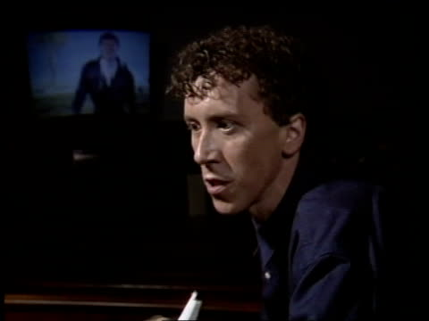 """arms race pop record; itn england: london? cms paul hardcastle intvw sof - """"i was fortunate enough -- through my music"""" itn: cms carol clerk intvw... - carol singer stock videos & royalty-free footage"""