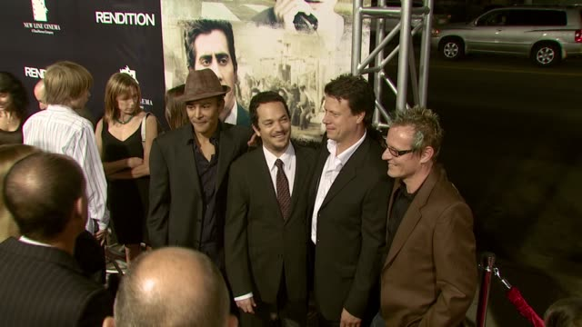 vidéos et rushes de paul hepker, director gavin hood, and mark killian at the 'rendition' los angeles premiere at academy of motion picture arts & sciences in beverly... - academy of motion picture arts and sciences