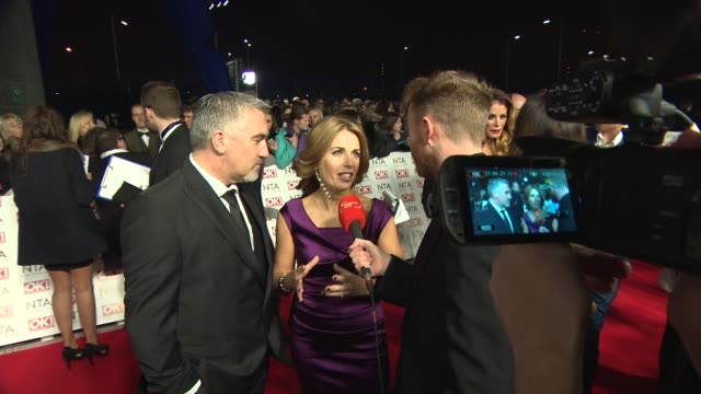 Paul Hollywood at National Television Awards at 02 Arena on January 21 2015 in London England