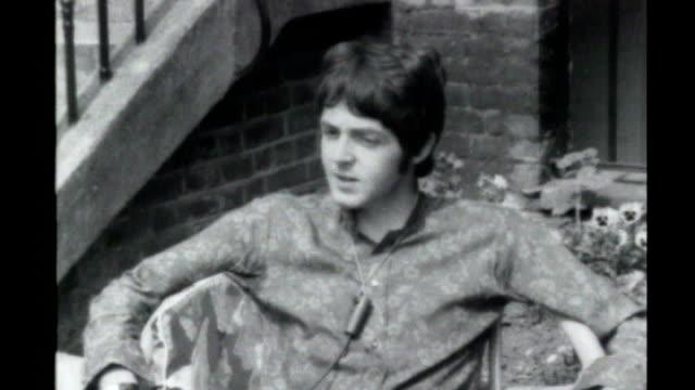 LSD inventor Albert Hofmann dies S25100603 Orig 19667 Paul McCartney of the Beatles interviewed on taking LSD SOT