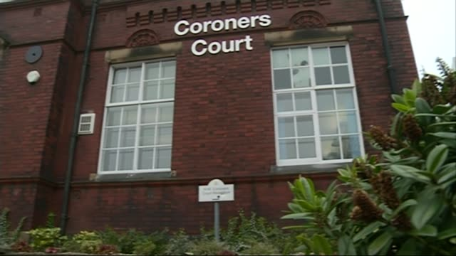 former g4s boss admits 'systemic failures' of staff vetting england greater manchester stockport coroners court building pan focus 'hm coroners court... - inquest stock videos & royalty-free footage