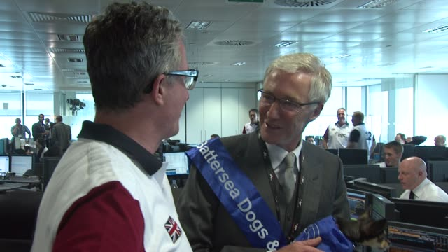 paul o'grady at bgc annual global charity day at bgc partners on september 11 2012 in london england - paul o'grady stock videos & royalty-free footage