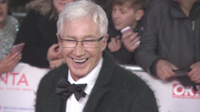 paul o'grady at national television awards at the o2 arena on january 23 2018 in london england - paul o'grady stock-videos und b-roll-filmmaterial