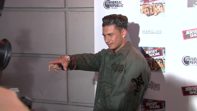 Paul 'Pauly D' DelVecchio at the 'Jersey Shore' Soundtrack Release Party at New York NY