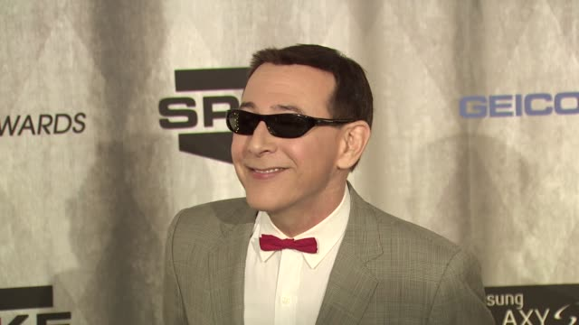 paul reubens at the spike tv's 'scream awards at universal city ca - universal city stock videos & royalty-free footage