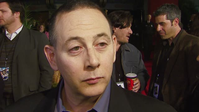 paul reubens on improv comedy and guest starring in projects like reno 911 and 30 rock at the 'reno 911! miami' premiere at grauman's chinese theatre... - sketch comedy stock videos & royalty-free footage