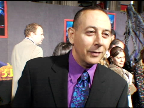 paul reubens on the memories the film brings back, on how he loves 3d movies, and on halloween and how he likes candy corn at the 'the nightmare... - el capitan theatre stock videos & royalty-free footage
