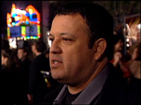 Paul Rodriguez at the 'Ali' Premiere at Grauman's Chinese Theatre in Hollywood California on December 12 2001