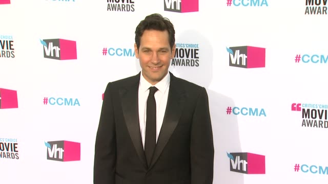Paul Rudd at 17th Annual Critics' Choice Movie Awards on 1/12/12 in Hollywood CA