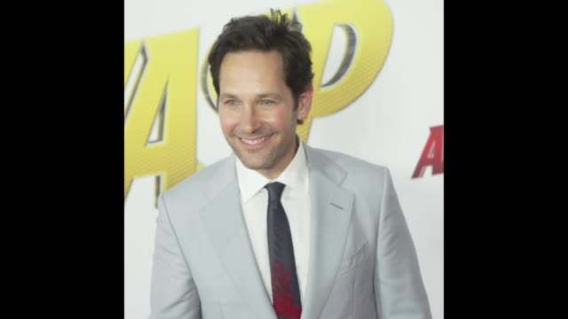 Paul Rudd at the AntMan and the Wasp World Premiere