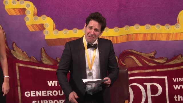 paul rudd does a deniro impersonation, rush on air guitar at hasty pudding theatricals honors paul rudd as 2018 man of the year at farkas hall on... - air guitar stock videos & royalty-free footage