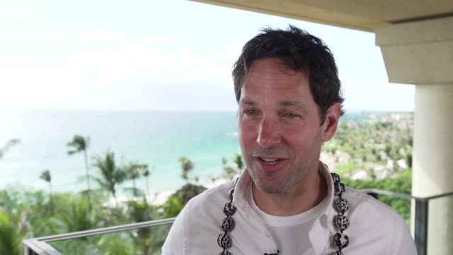 paul rudd on being here at the 2019 maui film festival - day 1 on june 12, 2019 in wailea, hawaii. - hawaii islands stock videos & royalty-free footage