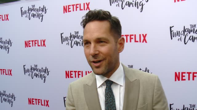 INTERVIEW Paul Rudd on what he loved about this story why he thought Craig was the perfect actor to play Trevor what were some of the funniest...