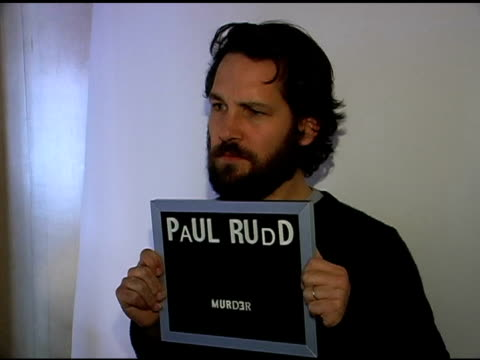 stockvideo's en b-roll-footage met paul rudd publicist approval required at the 2007 sundance film festival jane house sundance event at jane house in park city utah on january 20 2007 - publiciteitsmedewerker