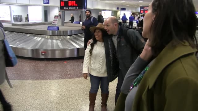 Paul Scheer arrives at Salt Lake City Airport for the Sundance Film Festival on January 21 2016