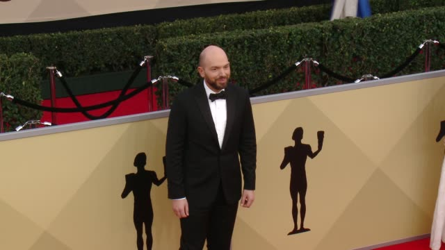 Paul Scheer at the 24th Annual Screen Actors Guild Awards at The Shrine Auditorium on January 21 2018 in Los Angeles California