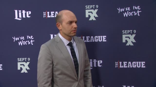 Paul Scheer at the Premiere of FXX's 'The League' Final Season and 'You're The Worst' 2nd Season at Regency Bruin Theater on September 08 2015 in...