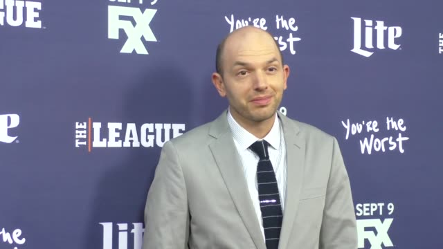 Paul Scheer at the Premiere Of FXX's The League Final Season You're The Worst 2nd Season at Bruin Theatre in Westwood on September 08 2015 in Los...