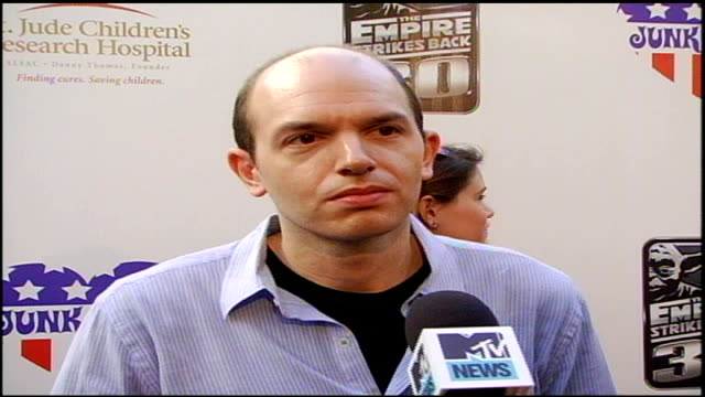 Paul Scheer Discussing Empire Strikes Back in Los Angeles California