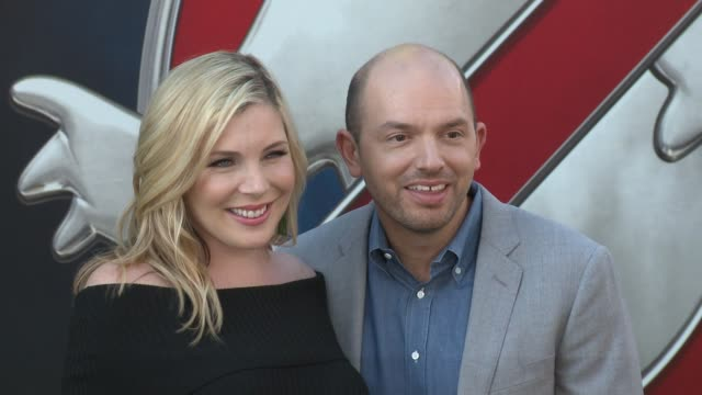 Paul Scheer June Diane Raphael at Premiere Of Sony Pictures' 'Ghostbusters' in Los Angeles CA