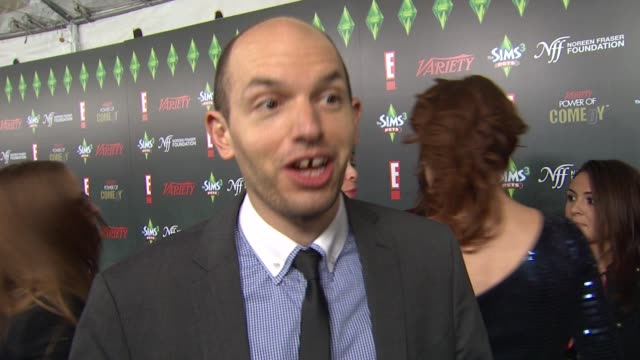 Paul Scheer on Amy Poehler at the Variety's 2nd Annual Power Of Comedy Event at Hollywood CA