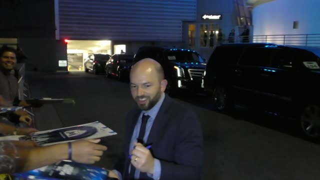 Paul Scheer signs for fans at the FYC Event for HBO's Westworld Season 2 at ArcLight Cinerama Dome in Hollywood in Celebrity Sightings in Los Angeles