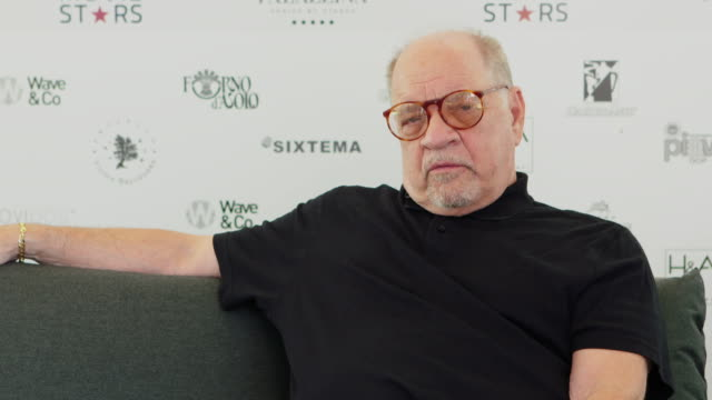 paul schrader on casting the right actor at 'first reformed' interviews - 74th venice international film festival on august 31, 2017 in venice, italy. - 74th venice film festival stock videos & royalty-free footage