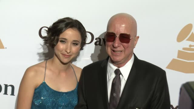 stockvideo's en b-roll-footage met paul shaffer at the 2016 pregrammy gala and salute to industry icons honoring irving azoff at the beverly hilton hotel on february 14 2016 in beverly... - irving azoff