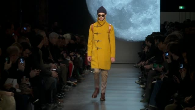 paris men's fashion week a/w 2011 on january 23 2011 in paris france - week stock videos and b-roll footage