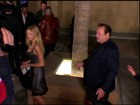 Paul Sorvino and Mira Sorvino at the 'The Cooler' Premiere at the Egyptian Theatre in Hollywood California on November 24 2003