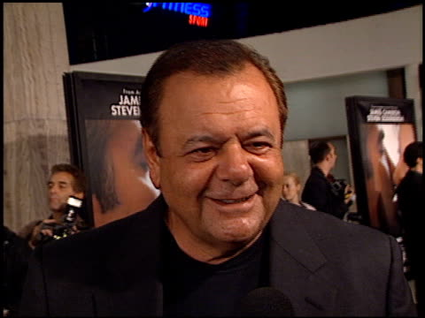 Paul Sorvino at the 'Solaris' Premiere at the Cinerama Dome at ArcLight Cinemas in Hollywood California on November 19 2002