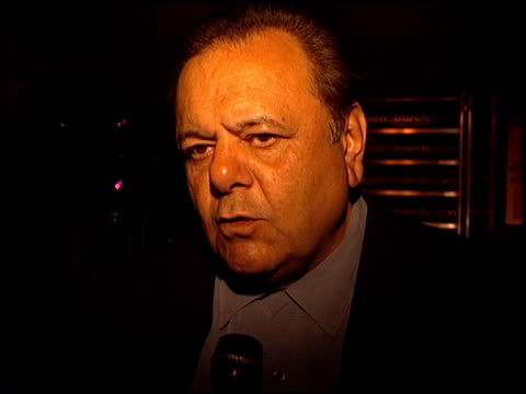 paul sorvino at the streamsearch com awards at playboy mansion in los angeles california on april 4 2000 - playboy mansion stock videos & royalty-free footage
