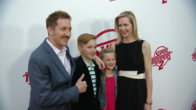 "paul soter at ""super troopers 2"" los angeles premiere presented by fox searchlight pictures in los angeles ca - super troopers 2 stock videos & royalty-free footage"