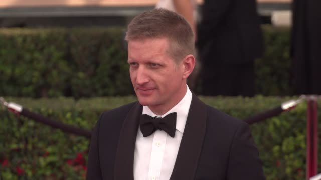 paul sparks at the 22nd annual screen actors guild awards - arrivals at the shrine auditorium on january 30, 2016 in los angeles, california. 4k... - shrine auditorium stock videos & royalty-free footage
