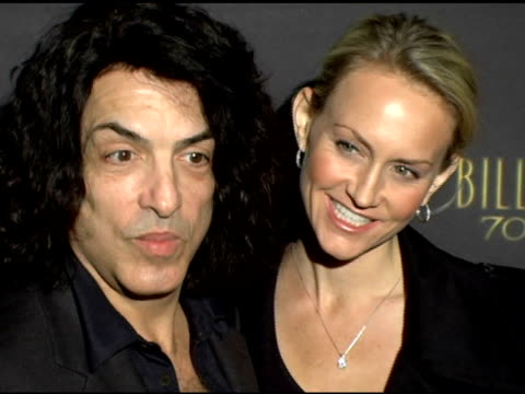 paul stanley and erin sutton at the los angeles opening night of the tony award winning broadway show billy crystal '700 sundays' at the wilshire... - broadway show stock videos and b-roll footage