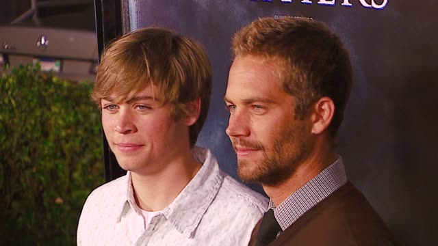 Paul Walker and Brother at the 'Flags Of Our Fathers' Los Angeles Premiere at Academy of Motion Picture Arts Sciences in Los Angeles California on...