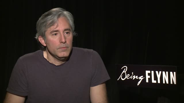 paul weitz on writing the script on the homeless aspect of the film on directing the cast and on what the film is about at the 'being flynn' press... - directing stock videos and b-roll footage