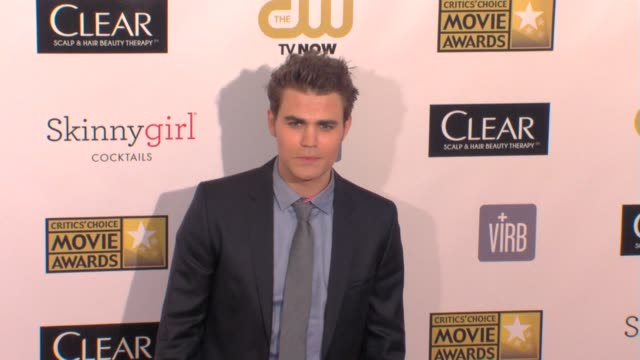 Paul Wesley at 18th Annual Critics' Choice Movie Awards 1/10/2013 in Santa Monica CA