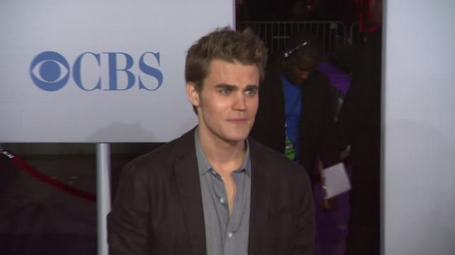 Paul Wesley at 2012 People's Choice Awards Arrivals on 1/11/12 in Los Angeles CA