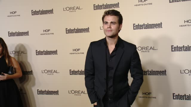 paul wesley at entertainment weekly's preemmy celebration at fig olive melrose place on september 18 2015 in west hollywood california - entertainment weekly stock videos and b-roll footage