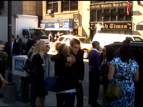 Paul Wesley at Madison Square Garden at the Celebrity Sightings in New York at New York NY