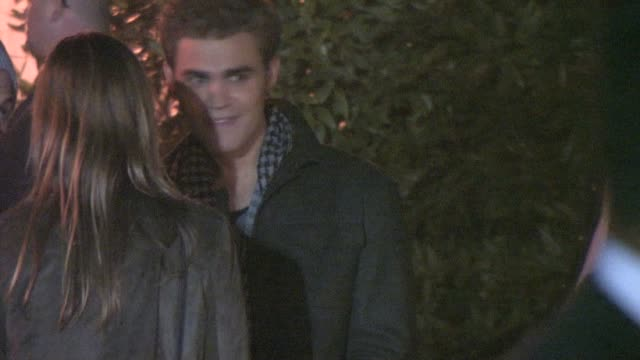 Paul Wesley at the 2010 Scream Awards at the Celebrity Sightings in Los Angeles at Los Angeles CA
