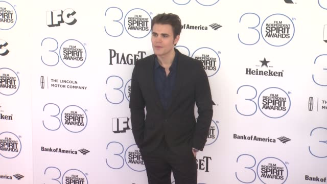 Paul Wesley at the 30th Annual Film Independent Spirit Awards Arrivals at Santa Monica Beach on February 21 2015 in Santa Monica California